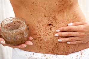 gomaj natural pentru o piele catifelata